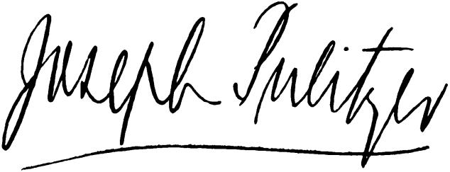 Pulitzer_Joseph_signature