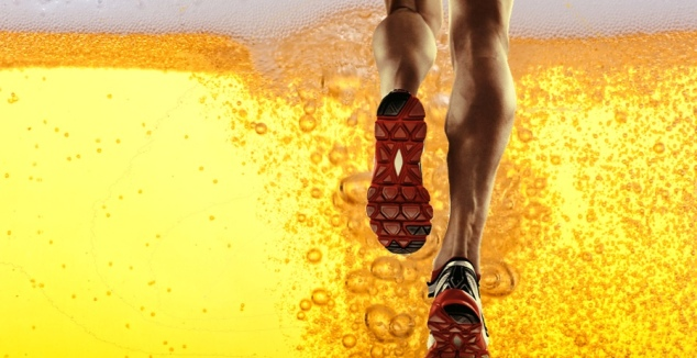 beer-and-running