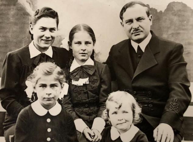 Nagy Béla családi fotója