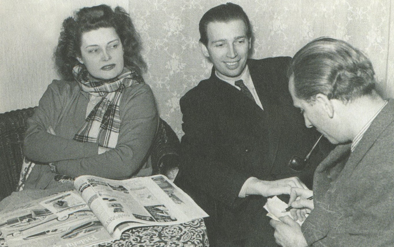 30. Karády 1951-ben Lantos Olivérrel